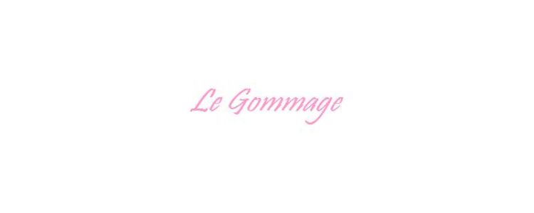 Le gommage capillaire
